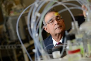Dr. Ruben G. Carbonell is the Frank Hawkins Kenan Distinguished Professor of Chemical Engineering at North Carolina State University and also serves as director for both BTEC and the Kenan Institute for Engineering, Technology & Science. Photo by Marc Hall